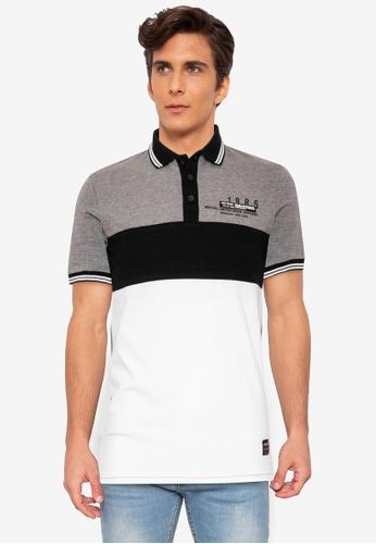 Ego multi Collar Polo Shirt Streaky D543FAA5636572GS_1