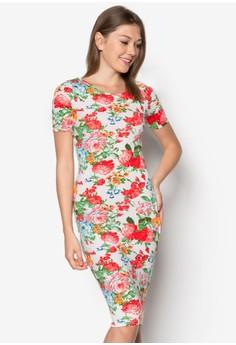 Floral Essence Midi Dress