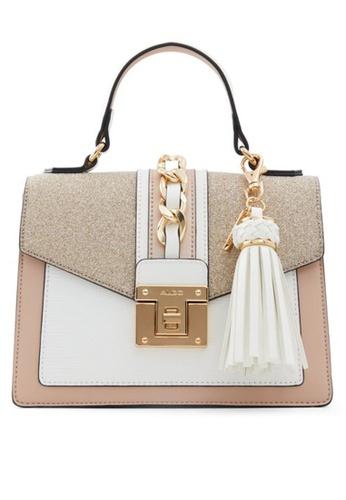 ALDO gold Martis Top Handle Bag BA482ACF66B96AGS_1