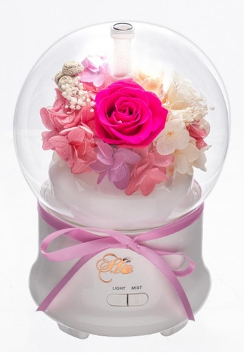 Her Jewellery pink Everlasting Preserved Rose - Rose Humidifier (Fushia Pink) 82E78HL2C11339GS_1