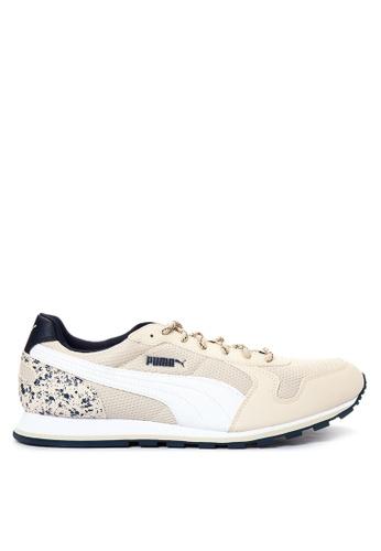 Puma white St Runner Speckles Pack Sneakers PU758SH51GBSPH_1