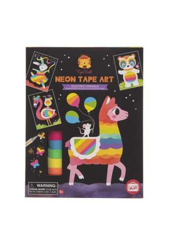 Tiger Tribe Neon Tape Art Electric Animals A4B82TH5FA6497GS_1