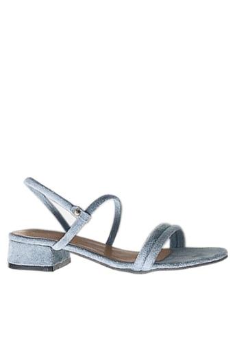 Twenty Eight Shoes 兩種穿著方式的搭帶矮跟鞋 VS1297 FFA43SHBEAC194GS_1