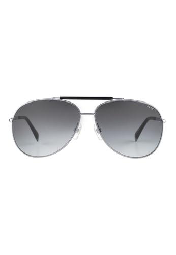 Esprit ESPRIT Aviator Grey Sunglasses ET13120 ES374AC48GAXMY_1