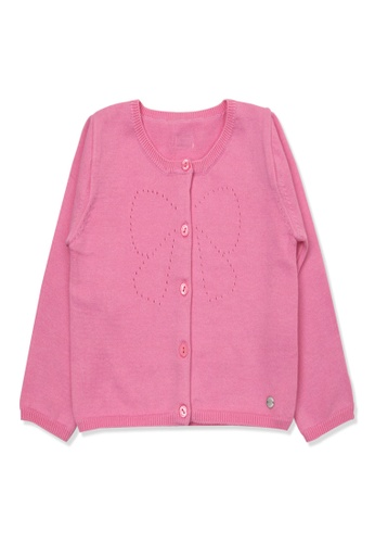 Organic mom pink Organic Cotton Ruby Thin Coat F01BCKA7F12778GS_1