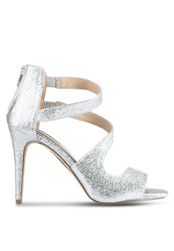 Miss Selfridge silver Silver Clara Shoes MI665SH0SAC9MY_1