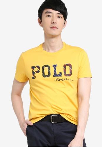 Polo Ralph Lauren yellow Short Sleeve T-Shirt E5F1AAAD140795GS_1