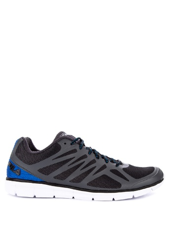 Fila grey and multi Memory Speedstride Ms Running Shoes 14D06SH9F8F200GS_1