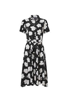 0e642c143e CHAPS black Chaps Floral Shirtdress 07927AA6E80179GS 1