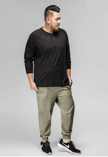 0743f387c3fe9 JSMIX green Plus Size Singapore-Men s Plus Size Jogger Pants  8CA16AA8DB463AGS 1