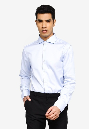 BOSS blue T-Christo Long Sleeve Shirt D2EF3AA5C82861GS_1