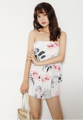 Shopsfashion white Sweetheart Jumpsuit in White SH656AA70QAZSG_1
