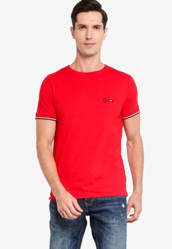 Tommy Hilfiger 紅色 TommyxMercedes-Benz 彈性T恤 922E2AAF5A136BGS_1