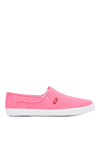 Life8 pink Casual Washed Cloth Candy Series Casual Shoes Slip-Ons -09679-Pink LI283SH0FUE7SG_1