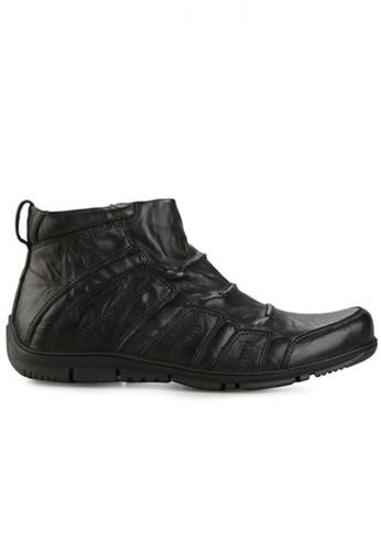 Gino Mariani black Gino Mariani Men's Leather Shoes RAYMOND - BLACK 9BA49SHB4DE73DGS_1
