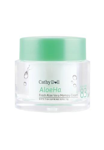 Cathy Doll white Cathy Doll Aloeha Fresh Aloe Vera Memory Cream 50g 96FC4BE0CA8CECGS_1