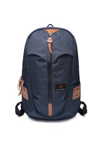 The Dude navy Skater Backpack TH373AC86CRHHK_1