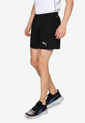"""Puma black Favourite Woven 5"""" Session Men's Running Shorts 7EC83AA2AD20AAGS_1"""