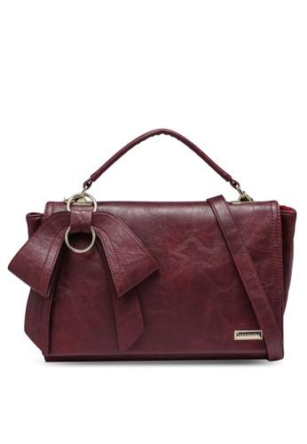 Verchini red Premium Bag With Bow 71EAEACBD61ABFGS_1