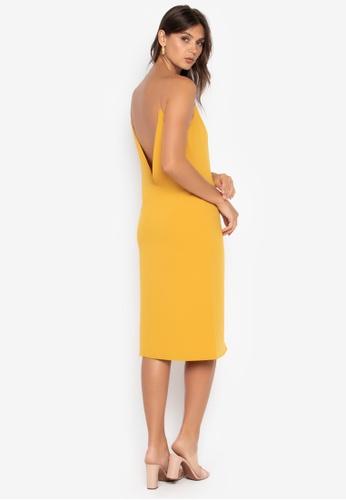 the___edit multi Naomi Low Back Dress 56050AAE10D2F5GS_1