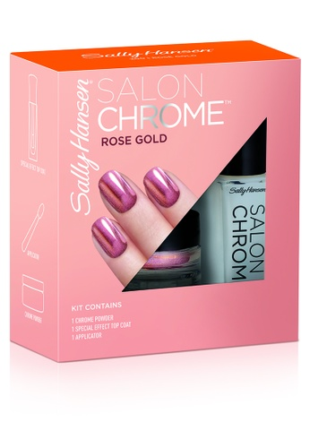 Sally Hansen pink Chrome Powder Kits - Rose Gold 30CD3BE8855622GS_1