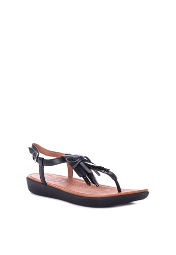 95fcbdabbf11 Shop Fitflop Tia Fringe Toe Thong Sandals - Leather Online on ZALORA  Philippines