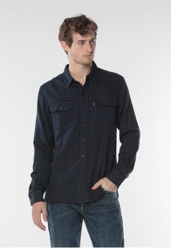 Levi's blue Levi's Classic Worker Shirt 99A71AA72D2E14GS_1