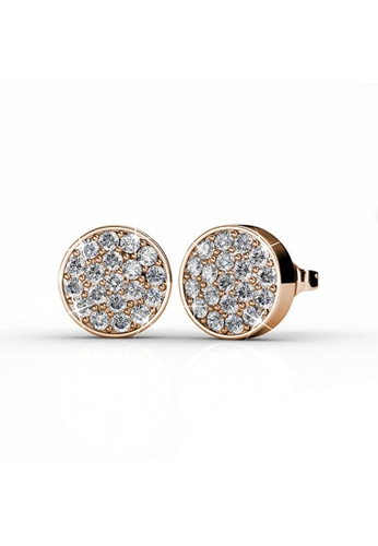 Her Jewellery gold Her Jewellery Round Earrings (Rose Gold) with 18K Gold Plated 2D2ACAC32773E6GS_1