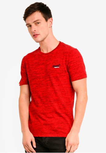 Superdry red Orange Label Vintage Embroidery Tee B66F5AA76685F6GS_1