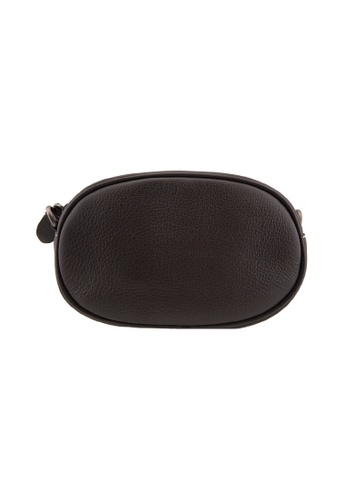 EXTREME brown Exreme Genuine Leather Oval Crossbody Bag 2E54DAC993A272GS_1