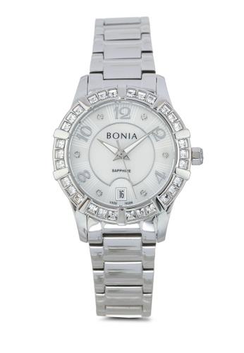 BONIA silver Bonia BNB10326-2353S Silver Stainless Steel Watch BO777AC0SE0VMY_1