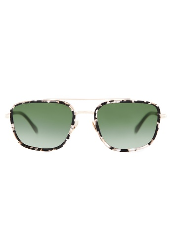 Marshall Eyewear green and gold Jimi Black turtle MA266AC75OWESG_1