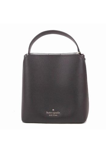 KATE SPADE black Kate Spade Small Darcy WKR00439 Bucket Bag In Black 82D7CACDDB5077GS_1