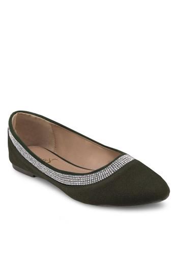經典串珠esprit服飾平底鞋, 女鞋, 芭蕾平底鞋