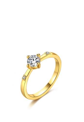 Sopistikada gold Roxy 18k Plated Ring SO776AC0KOWUPH_1