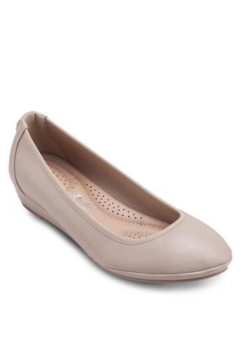 esprit holdings低跟楔形鞋, 女鞋, 厚底楔形鞋