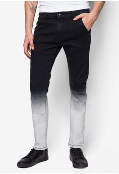 Cn-Dipped Dye Skinny Jeans