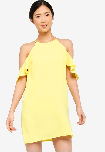 9732e97461c3cd Buy ZALORA BASICS Basic Cold Shoulder Dress Online on ZALORA Singapore