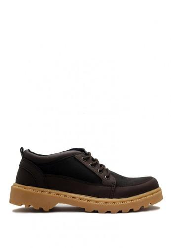 D-Island brown D-Island Shoes Low Boots Rider Fashion Dark Brown DI594SH0VOGDID_1