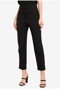 967a4140c61 Miss Selfridge Petite Red Tie Jumpsuit RM 249.00. Available in several sizes  · Miss Selfridge black Black Tab Front Cigarette Trousers 08DF4AA3A75380GS 1
