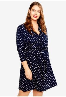 da57c5d9c1a Buy Violeta by MANGO Plus Size Floral-Print Flowy Dress Online ...