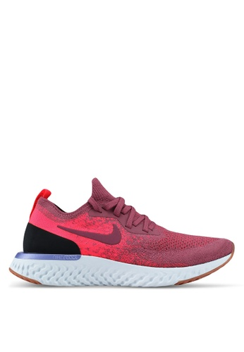 7e6fa35ba715 Nike red Women s Nike Epic React Flyknit Running Shoes C4C18SH1847E7FGS 1.  CLICK TO ZOOM