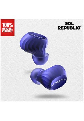 SOL REPUBLIC blue Earphone Bluetooth Wireless - Amps Air 2.0 - Sol Republic - Blue 2BD49ESE8B01E5GS_1