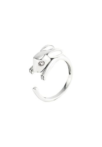 A-Excellence silver Premium S925 Sliver Geometric Ring 887B3AC14E92B2GS_1