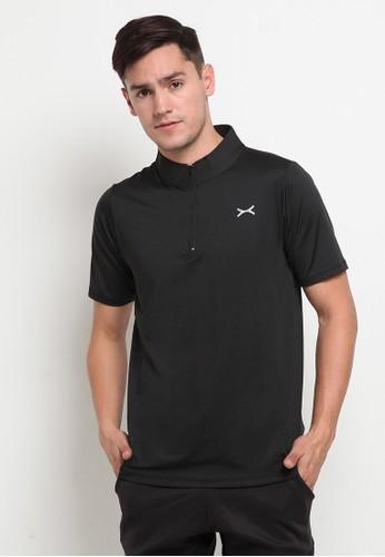 Flexzone black FLEXZONE Sports Jersey Ascend Series Black F0CE8AA74A3892GS_1