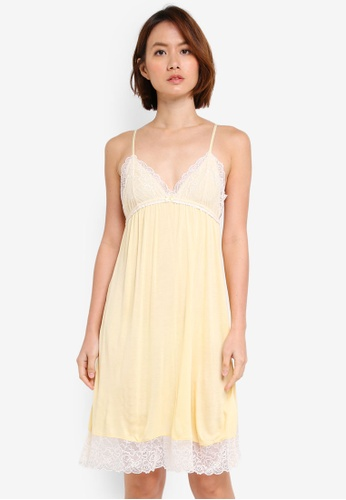 OVS yellow Lace Nightgown 78803AACB1F51CGS_1