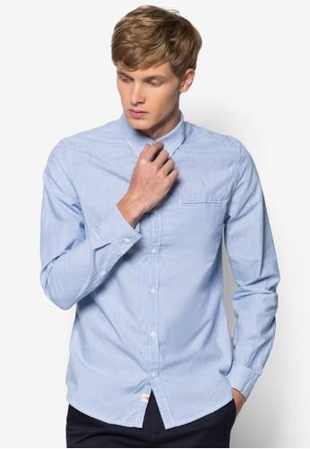 棉質長袖襯衫, 服esprit 京站飾, 印花襯衫