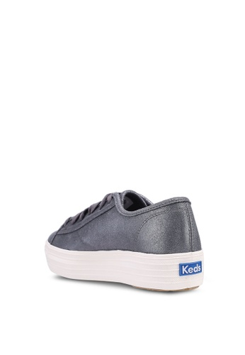 1ee1ac3f4cc Buy Keds Triple Kick Glitter Suede Sneakers Online on ZALORA Singapore