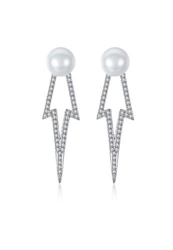 SUNRAIS silver High-grade colored stone silver fashion earrings 48017ACE39C74EGS_1