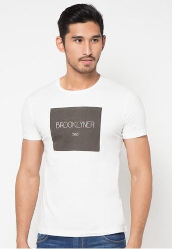White Brooklyner S/S Tee
